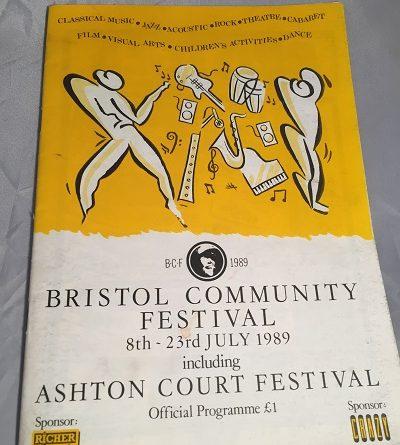 Ashton Court Festival 1989