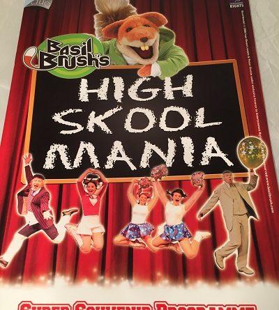 Basil Brush High Skool Mania Minehead 2009