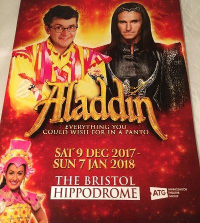 Bristol Hippodrome aladdin 2017