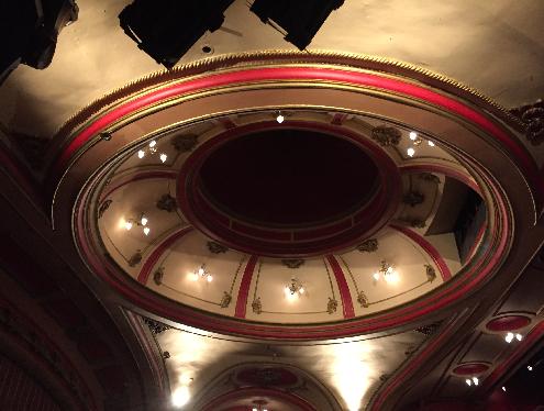 Bristol Hippodrome auditorium dome