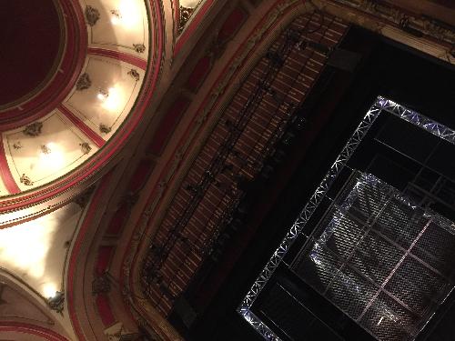 Bristol Hippodrome ceiling