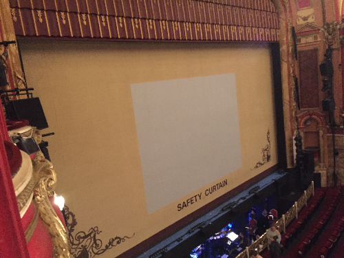 Bristol Hippodrome safety curtain