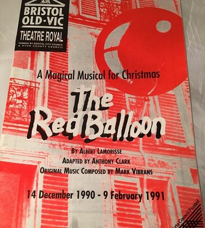 Bristol Old Vic The Red Balloon