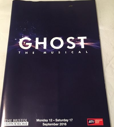 Ghost the Musical 2016 Bristol