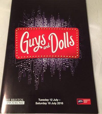 Guys and Dolls 2016 Bristol