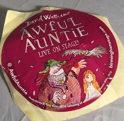 Awful Auntie Sticker 2018