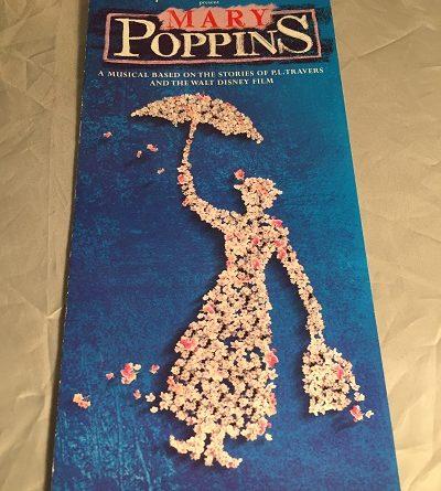 Mary Poppins leaflet Bristol 2004