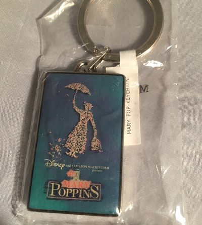 Mary Poppins Keyring 2004