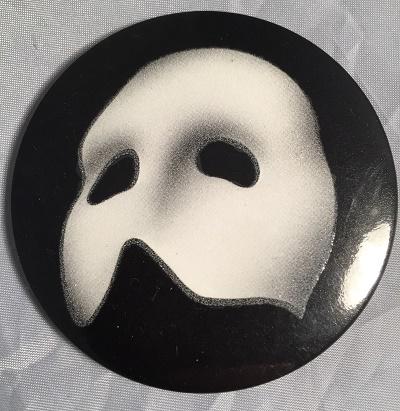 Phantom of the Opera glow in the dark Badge 90s