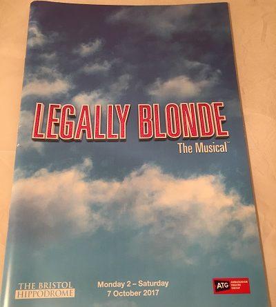 Legally Blonde Bristol 2017
