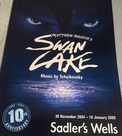 Matthe Bournes Swan Lake Saddlers Wells