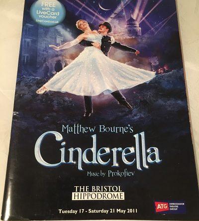 Matthew Bournes Cinderella 2011 Bristol