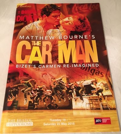 Matthew Bournes The Car Man Bristol 2015