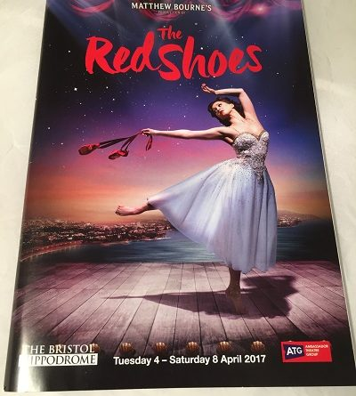 Matthew Bournes The Red Shoes Bristol 2017