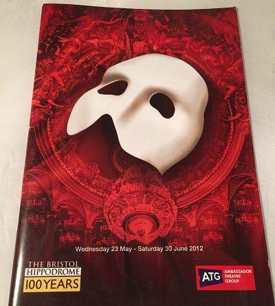Phantom of the Opera Bristol 2012