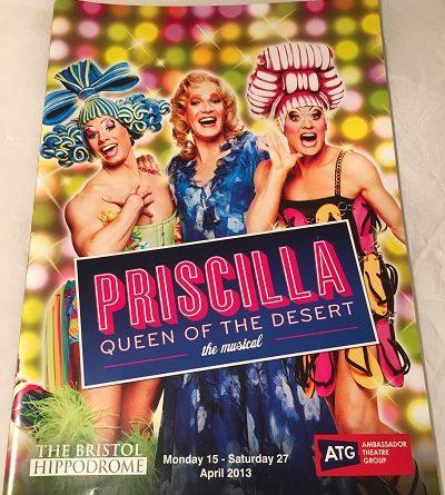 Priscilla Queen of the Desert Bristol 2013