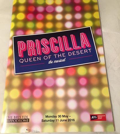 Priscilla Queen of the Desert Bristol 2016