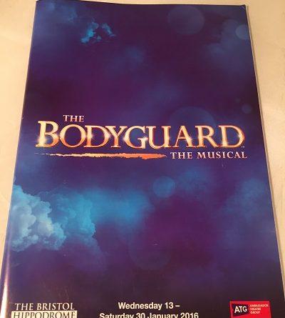 The Bodyguard musical 2016