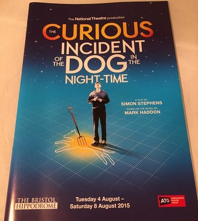 The curious Incident of the dog in the Nighttime Bristol 2015
