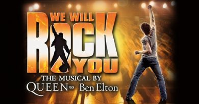 We will rock you Bristol Hippodrome
