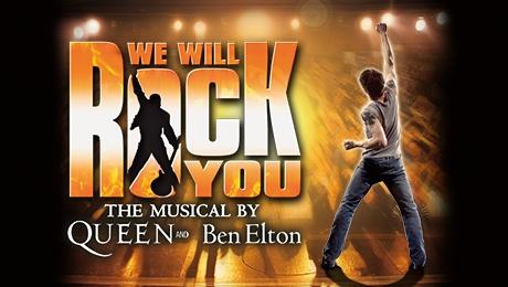 We will rock you Bristol Hippodrome