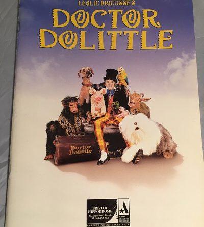 doctor doolittle bristol hippodrome