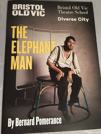 elephant man bristol old vic