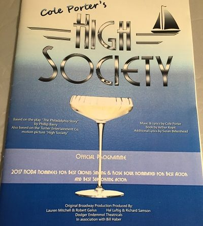 high society redgrave theatre