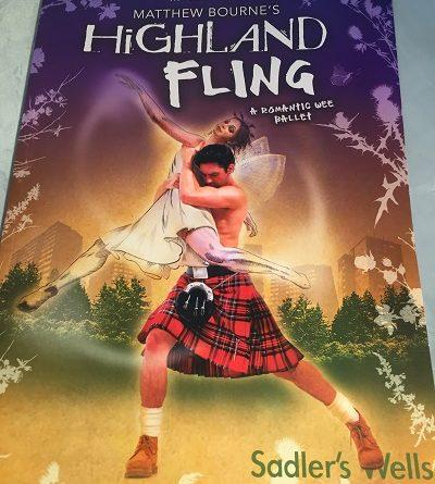 matthew bournes highland fling saddlers wells