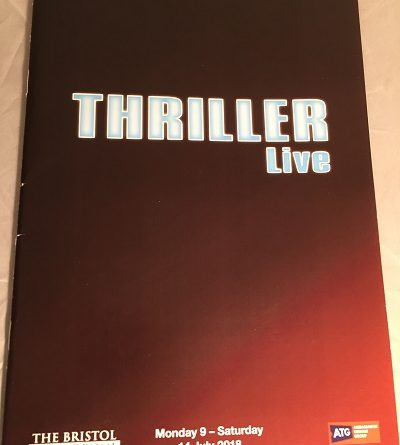 thriller live bristol hippodrome