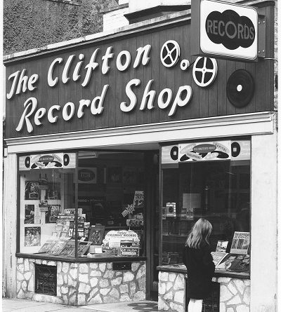 Clifton Record Shop photo - credit Adam White