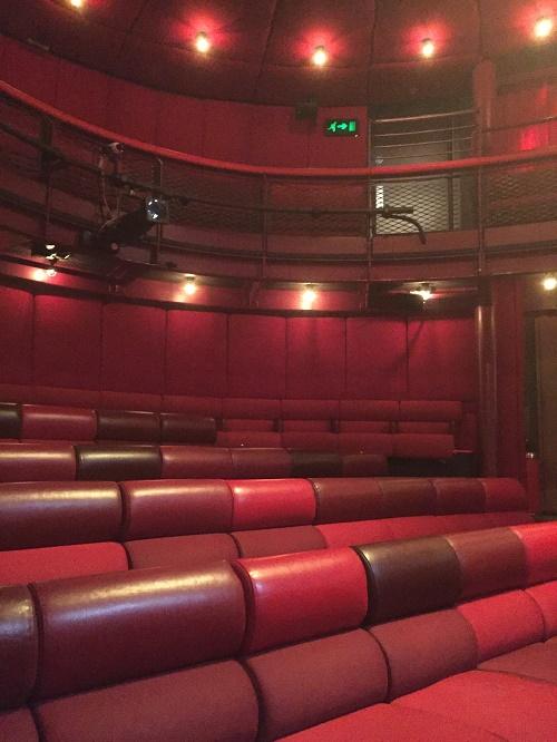 the egg theatre auditorium