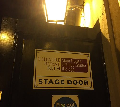 the egg theatre bath stage door