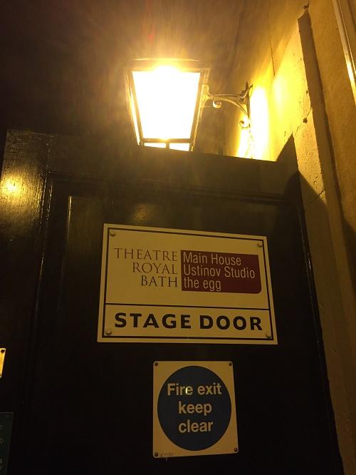 the egg theatre bath stage door