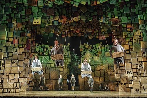 Matilda musical bristol hippodrome