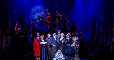 the Addams Family musical Bristol Hippodrome