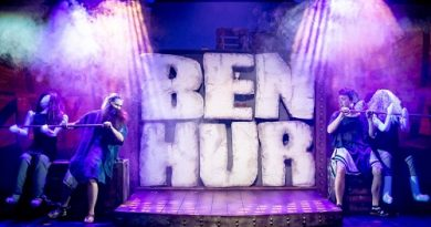 Ben Hur Barn Theatre Cirencester. The production is now running until April.