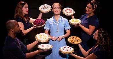 Waitress musical Bristol Hippodrome