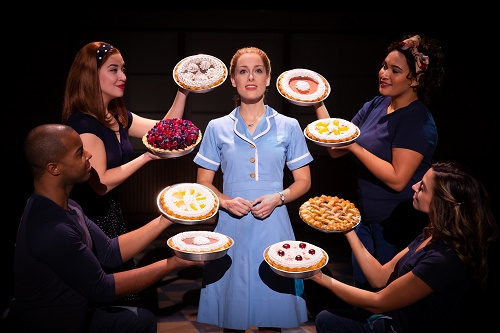 Waitress musical Bristol Hippodrome