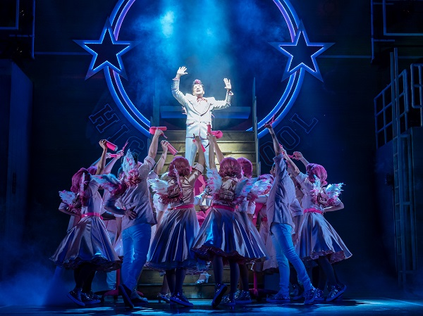 Grease Bristol Hippodrome featuring Peter Andre in the role of Teen Angel