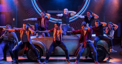 Grease The Musical Review at the Bristol Hippodrome